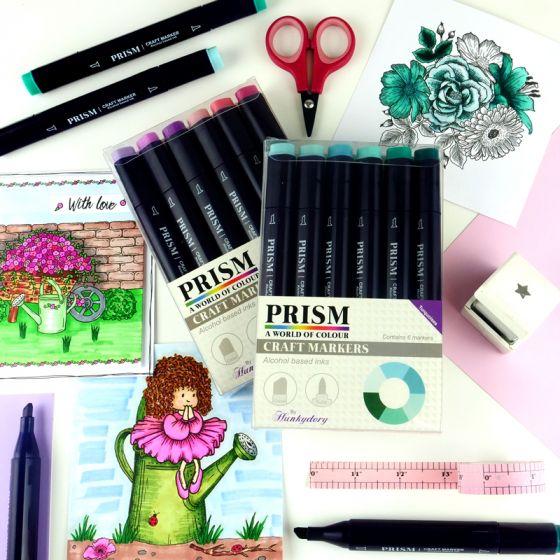 Prism Craft Markers & Handbook Complete Bundle