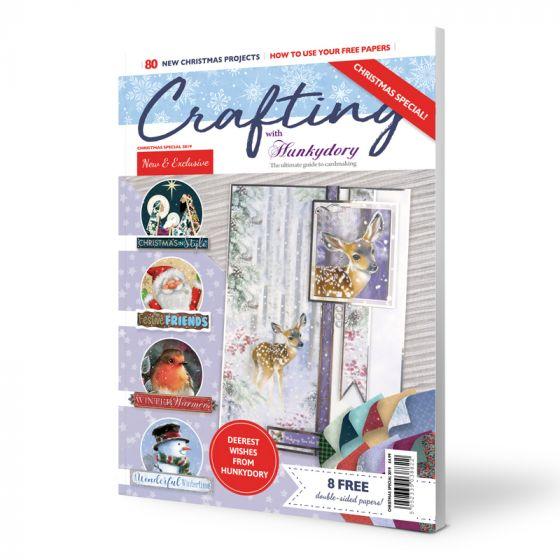 Crafting with Hunkydory Magazine - Christmas Edition 2019