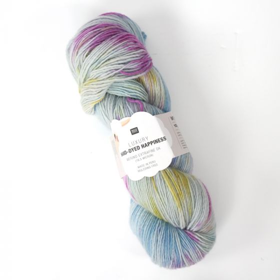 Hand-Dyed Happiness 100g - Light Blue