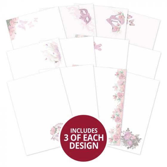 Rose Quartz Dreams Luxury Card Inserts