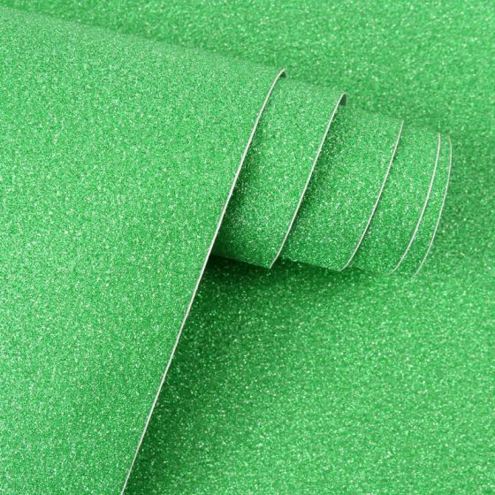 Diamond Sparkles Self-Adhesive Shimmer Roll - Emerald Green
