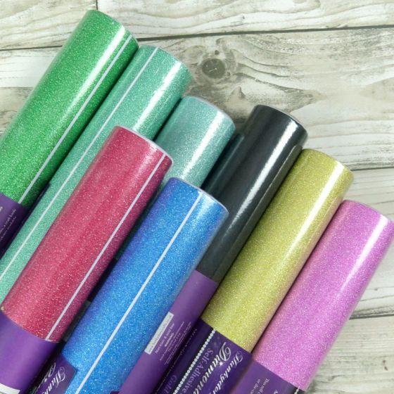 Diamond Sparkles Self-Adhesive Shimmer Roll Bundle