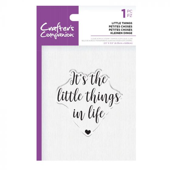 CC - Clear Acrylic Stamps - Little Things