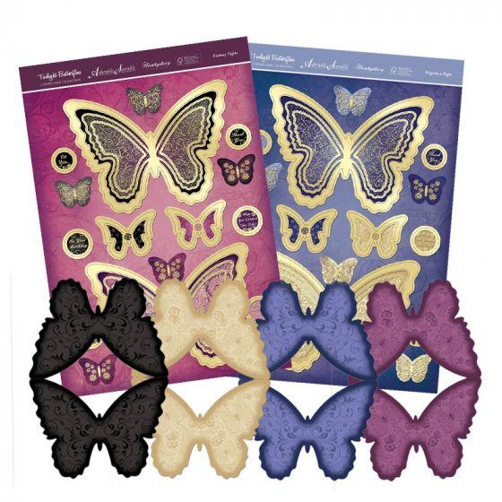 Blossoming Butterflies Premium Card Kit