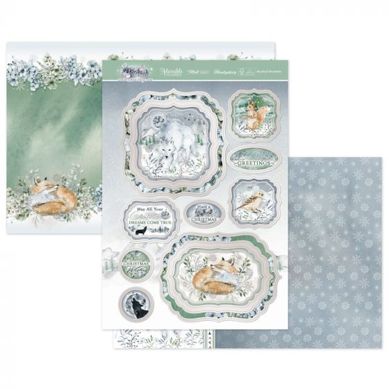 Mystical Moments Luxury Topper Set