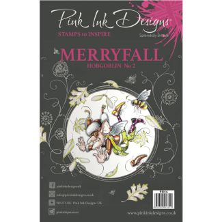 Pink Ink Designs A5 Clear Stamp - Merryfall Hobgoblin
