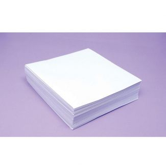 Bright White 100gsm Envelopes -Size 6 x 6 - Approx 50