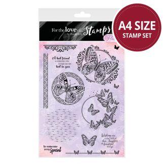 All of a Flutter Aperture A4 Stamp Set