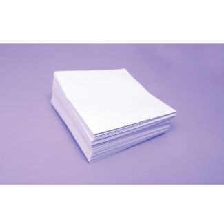 "Bright White 100gsm Envelopes -Size 4"" x 3"" - Approx 50"