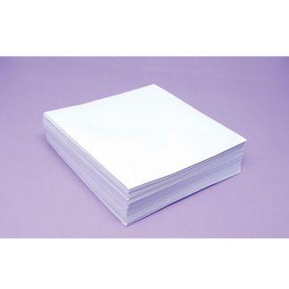 BULK Bright White 100gsm Envelopes -Size 6 x 6 - x 1,000 Envelopes
