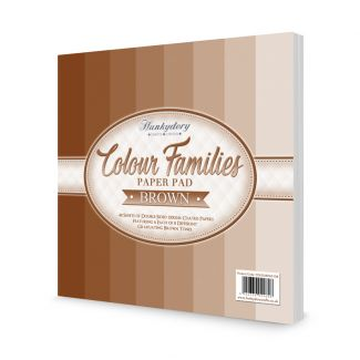Colour Families Paper Pad - Brown