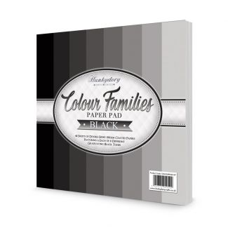 Colour Families Paper Pad - Black