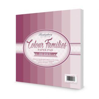 Colour Families Paper Pad - Berry