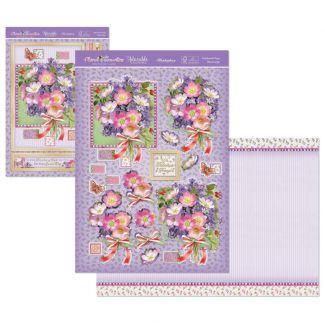 Floral Favourites Designer Deco-Large - Patchwork Posy