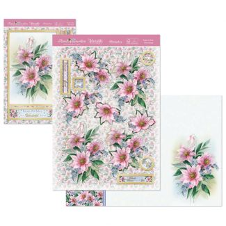 Floral Favourites Designer Deco-Large - Pretty in Pink
