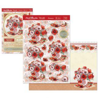 Floral Favourites Designer Deco-Large - Picturesque Poppies