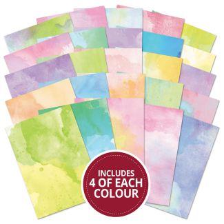 Adorable Scorable Pastel Watercolour 100 Sheet Megabuy