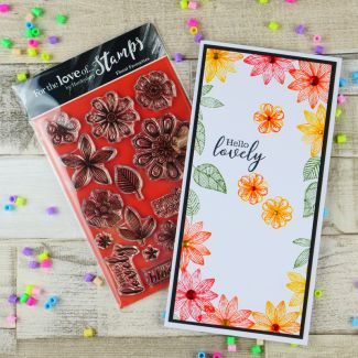 For the Love of Stamps - Floral Favourites