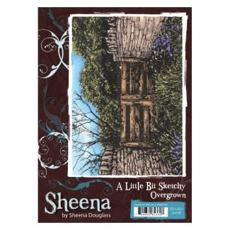 Sheena - a Little Bit Sketchy A6 Stamp - Overgrown