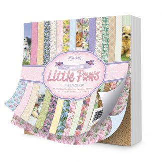 """Return of the Little Paws Luxury 8""""x8"""" Paper Pad"""