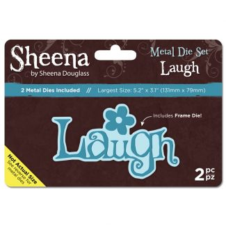 Sheena Metal Die set - Laugh