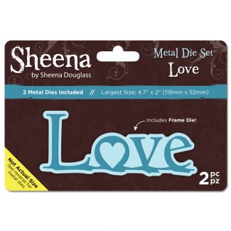 Sheena Metal Die set - Love