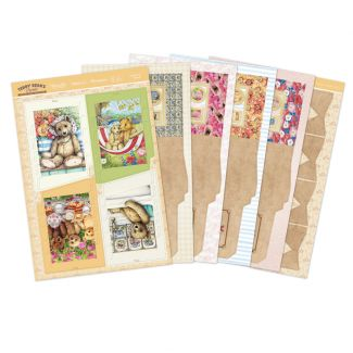 Teddy Bear Sliding Reveal Cards