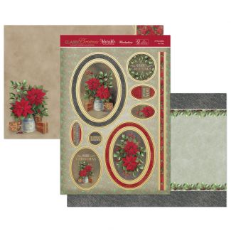 A Poinsettia for You Luxury Topper Set