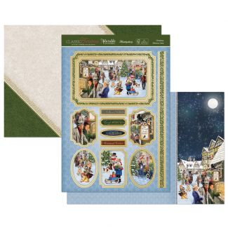 Christmas Memory Lane Luxury Topper Set