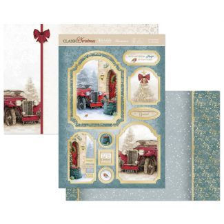 Driving Home for Christmas Luxury Topper Set