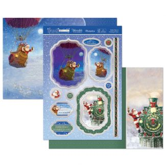 Santa Claus is Coming to Town Luxury Topper Set
