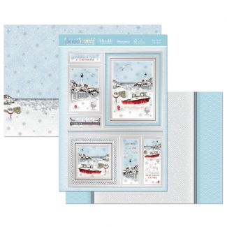 Sea You at Christmas Luxury Topper Set
