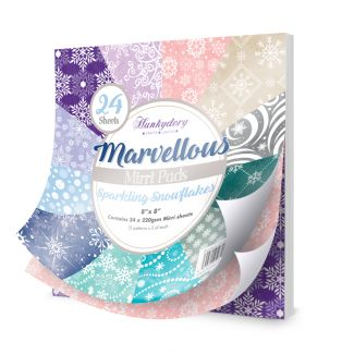 Marvellous Mirri Pad - Sparkling Snowflakes