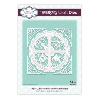 Paper Cuts Collection - Festive Cornucopia Craft Die