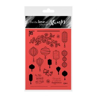 For the Love of Stamps - Lovely Lanterns