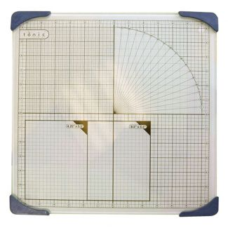 "Tonic Glass Mat - 13"" Square"