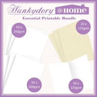 Hunkydory@Home - Essential Printable Bundle