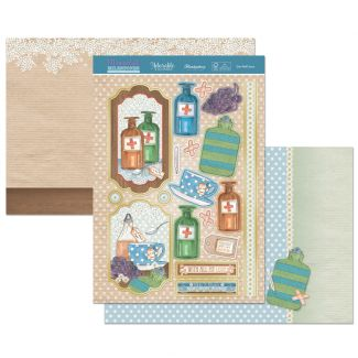 Moments & Milestones Luxury Topper Set - Get Well Soon