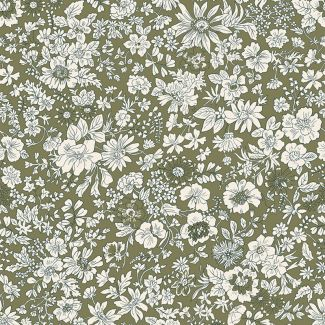 Liberty Fabric - Fat Quarter - Emily Silhouette T