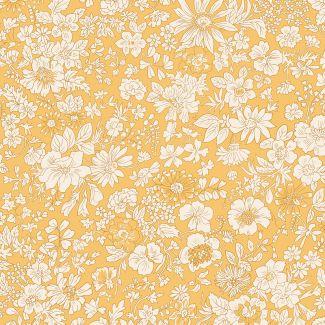 Liberty Fabric - Fat Quarter - Emily Silhouette X