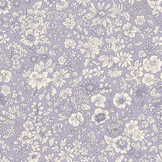 Liberty Fabric - Fat Quarter - Emily Silhouette Y