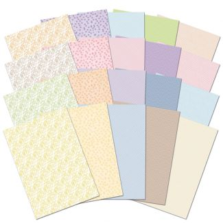 Adorable Scorable Card Block Springtime Patterns