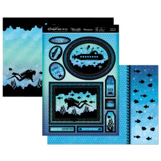 Twilight Under the Sea Luxury Topper Set - Enjoy the adventure
