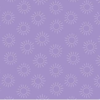Stuart Hillard - Rainbow Etchings - Sun on Lilac
