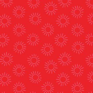 Stuart Hillard - Rainbow Etchings - Sun on Red