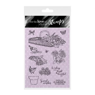 For the Love of Stamps - Bright & Beautiful