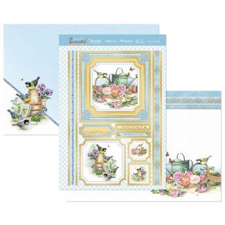 Born to Garden Luxury Topper Set