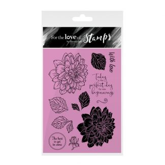 Clear Stamps | Delightful Dahlias