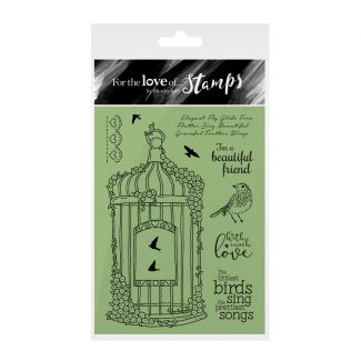 Clear Stamps | Blossoming Birdcage