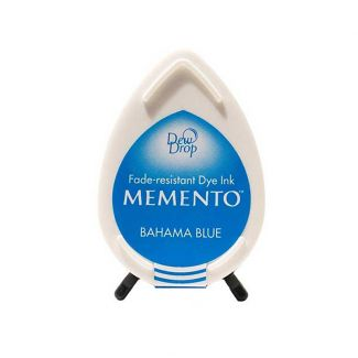 Memento Dew Drop Dye Ink Pad - Bahama Blue